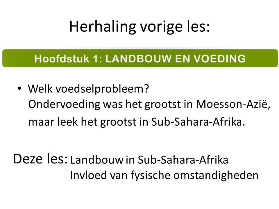 Arabische wereld Sub-Sahara-Afrika EV NKK ZKK centraal keerkringen p.108