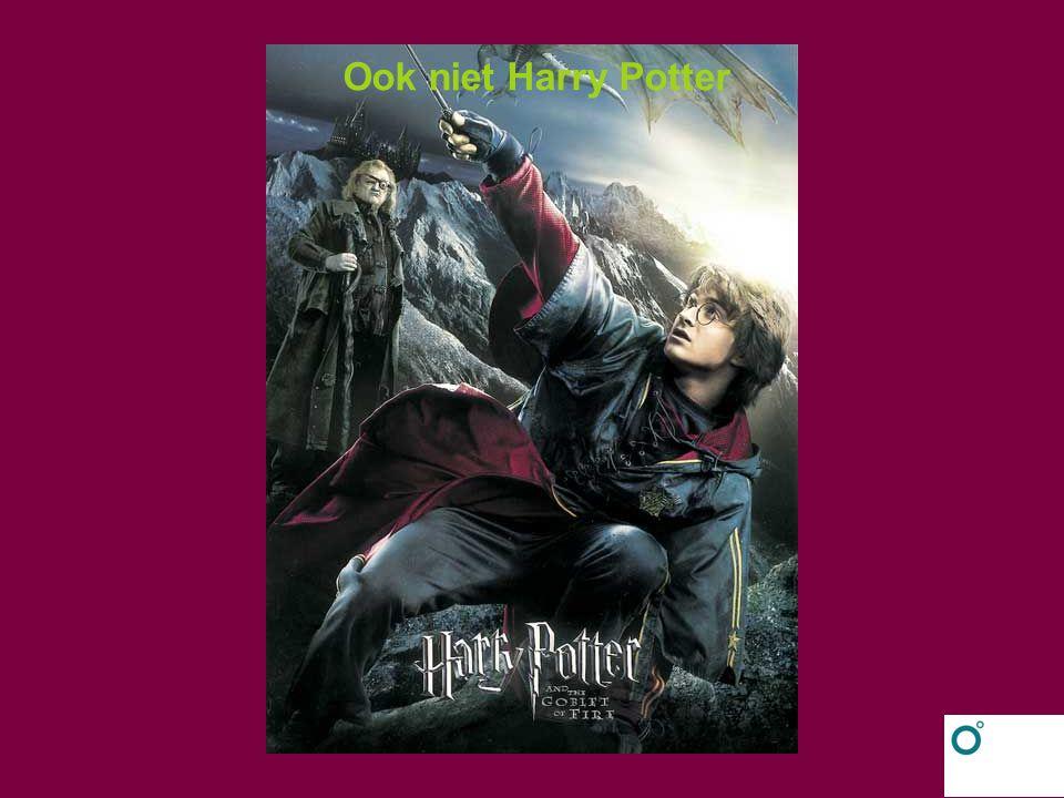 Ook niet Harry Potter