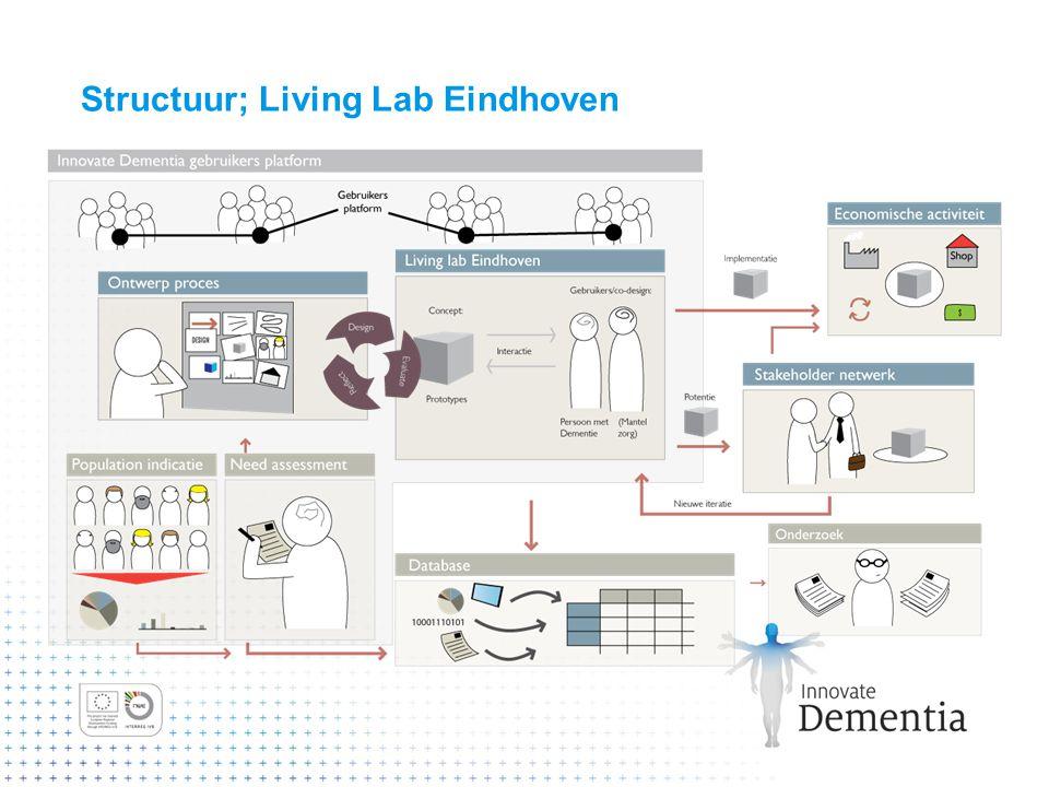 Structuur; Living Lab Eindhoven