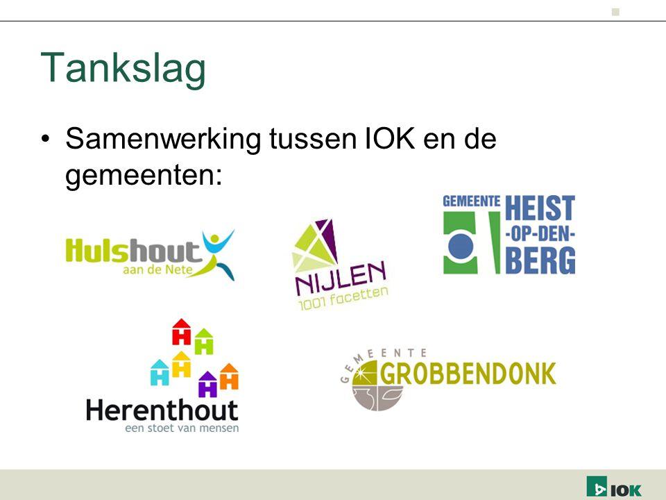 Tankslag Samenwerking tussen IOK en de gemeenten: