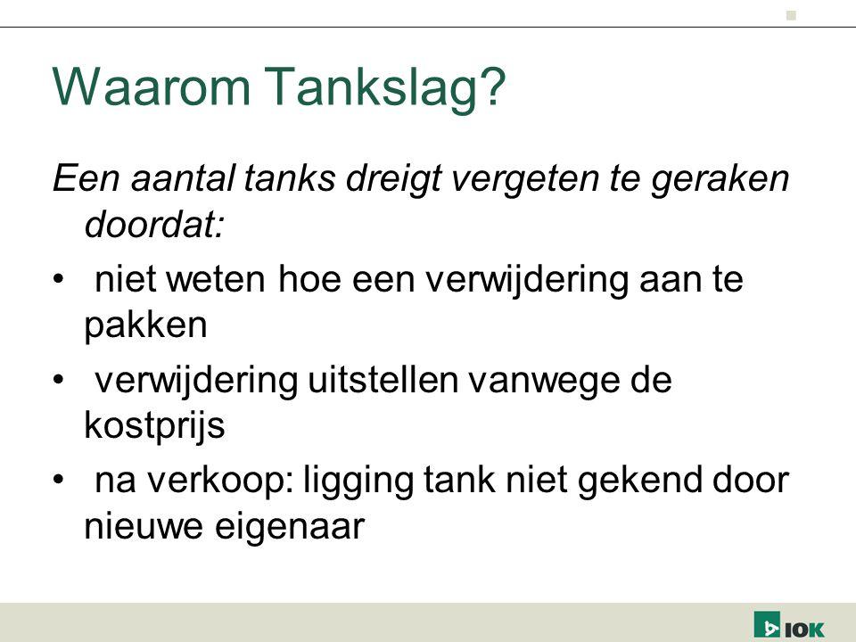 Waarom Tankslag.