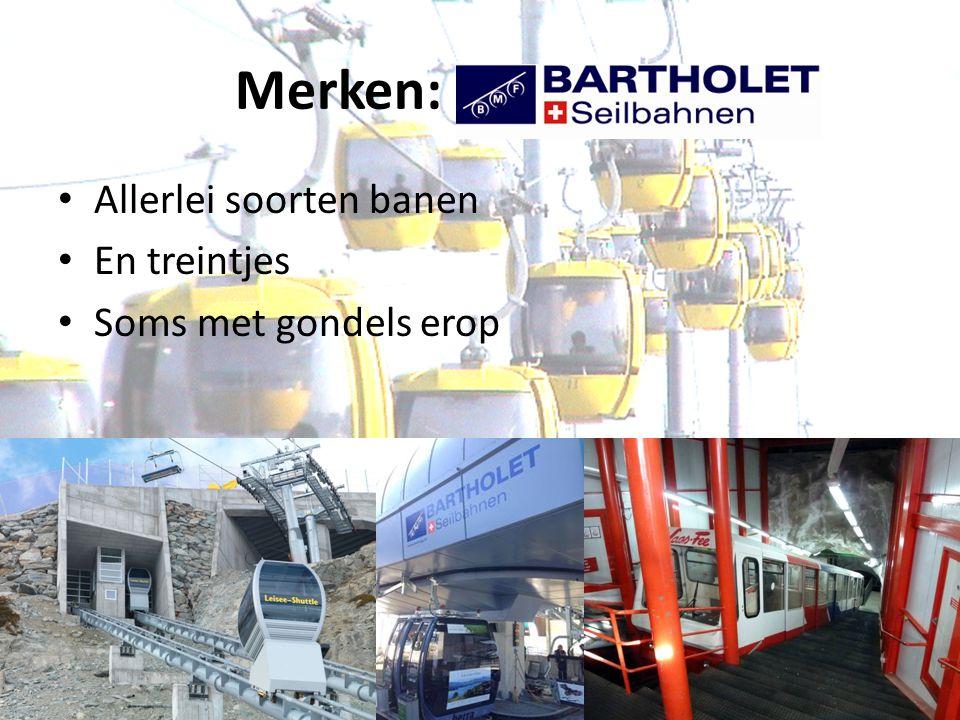 Merken: BMF Allerlei soorten banen En treintjes Soms met gondels erop