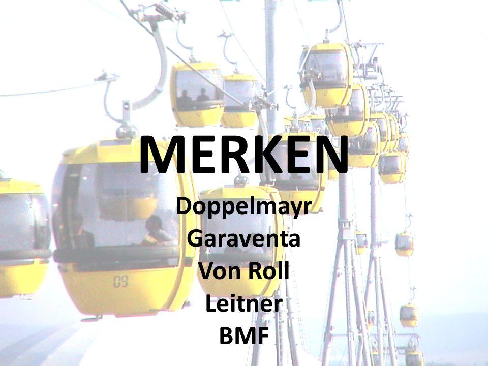MERKEN Doppelmayr Garaventa Von Roll Leitner BMF