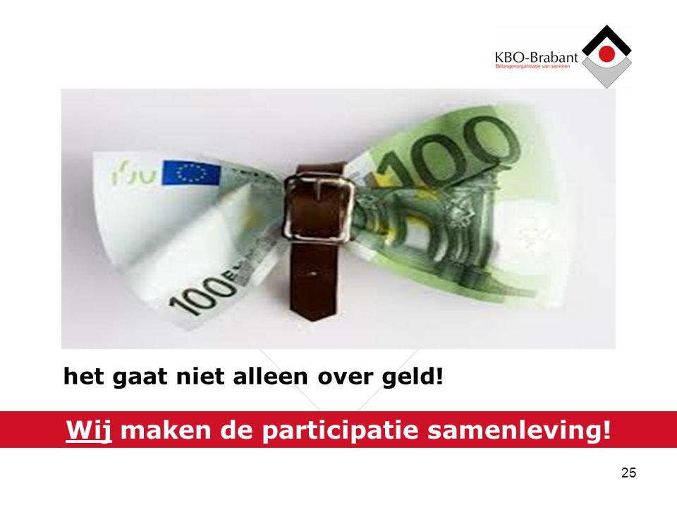 vroeger was alles beter / ouderenzorg is nergens ter wereld beter geregeld dan in Nederland / we hebben nog steeds niets te klagen / wie het langst leeft heeft toch alles / na mij de zondvloed / er moet ook nog iets overblijven voor onze kinderen en kleinkinderen / we waren ook te verwent / als het echt nodig is blijft de zorg gegarandeerd / het kan ook best goedkoper / het lijkt wel of ouderen de schuld krijgen / PGB of bonussen in de zorg.