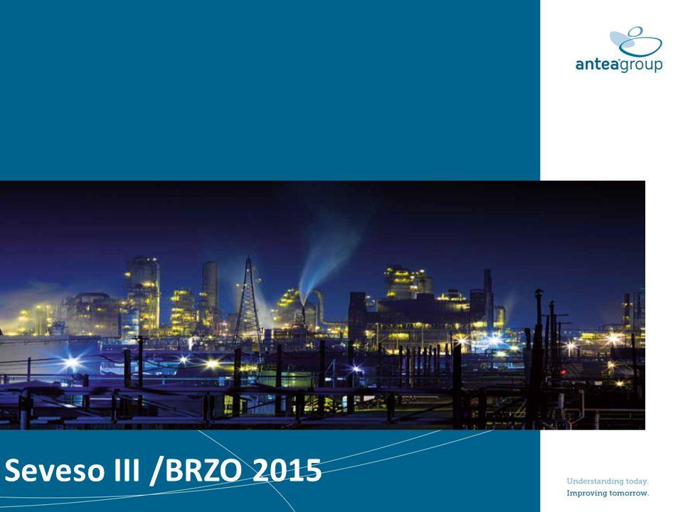 Korte intro Seveso en Brzo ‒Seveso ‒Europees kader voor veilig werken majeure industrie.