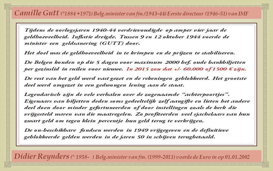 Hierna volgt een overzicht (10 000-10 bef.) Lees volgende blz. als inleiding Biljetten nog steeds inwisselbaar bij NBB (01.01.2015) Biljetten niet mee