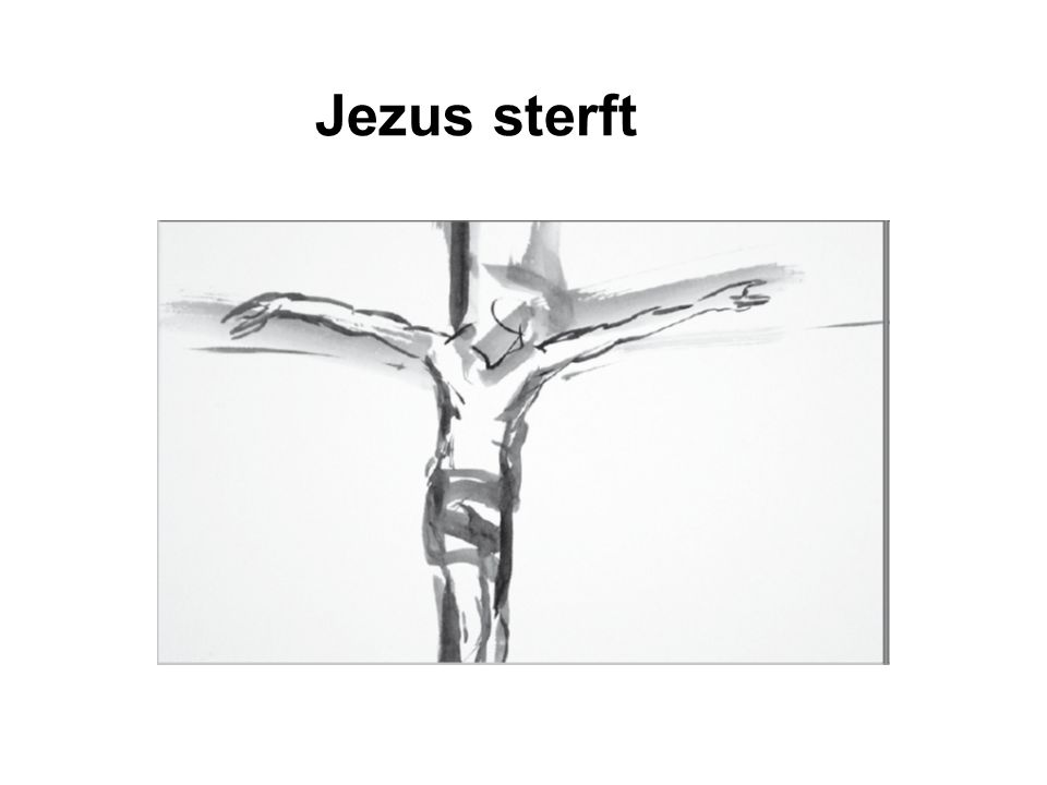 Jezus sterft