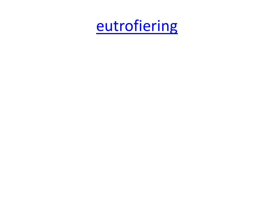 eutrofiering