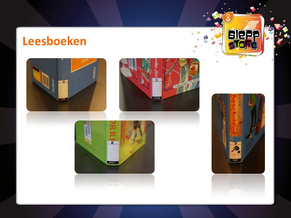 Leesboeken - Opdracht In welke volgorde staan de boeken in de kast? AB CD