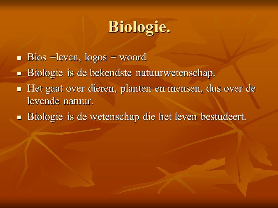 Biologie.