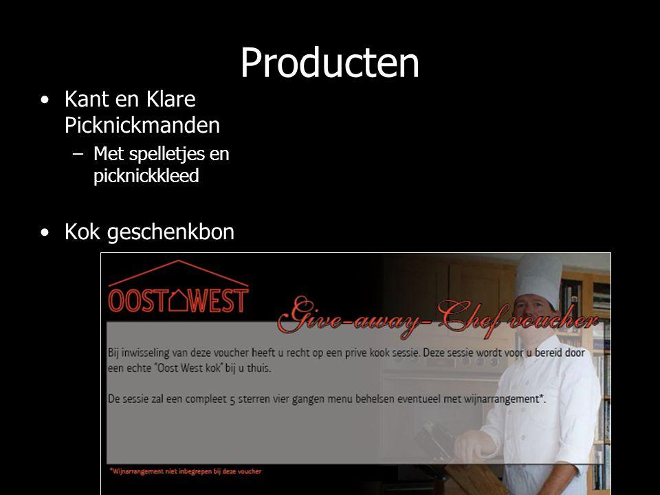 Producten Kant en Klare Picknickmanden –Met spelletjes en picknickkleed Kok geschenkbon