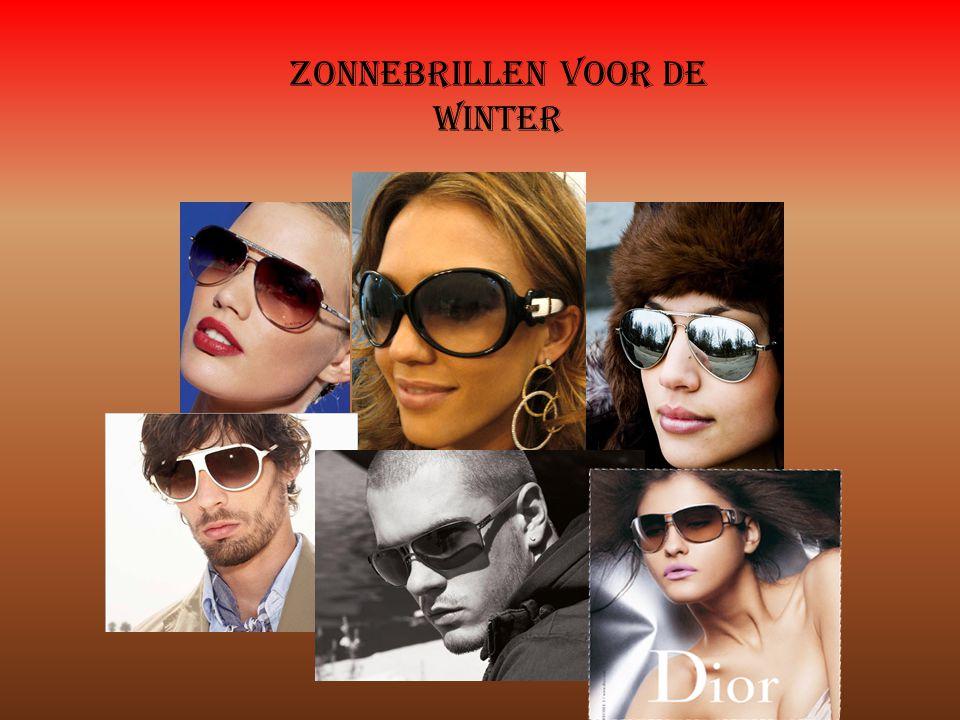 Zonnebrillen voor de winter