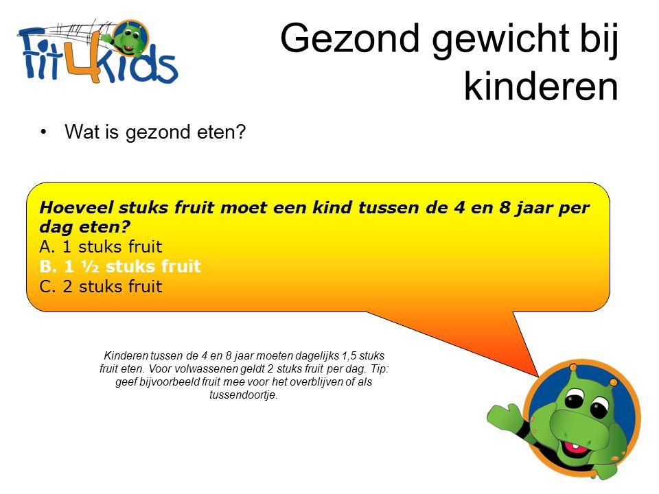 Gezond gewicht bij kinderen Wat is het belangrijkste eetmoment van de dag.