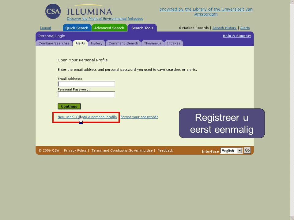 Kies een wachtwoord van 4 tot 8 tekens