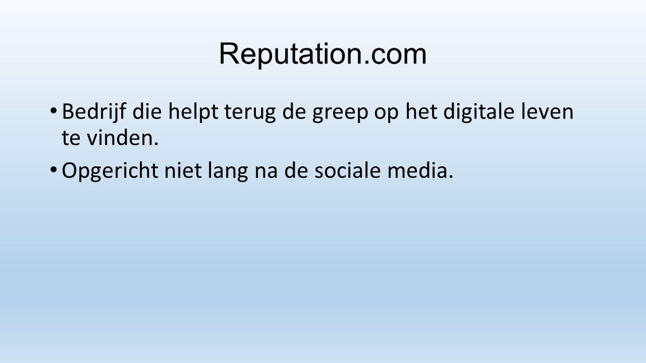 Reputation.com Bedrijf die helpt terug de greep op het digitale leven te vinden.