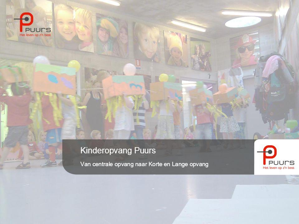 Kinderopvang Puurs Van centrale opvang naar Korte en Lange opvang