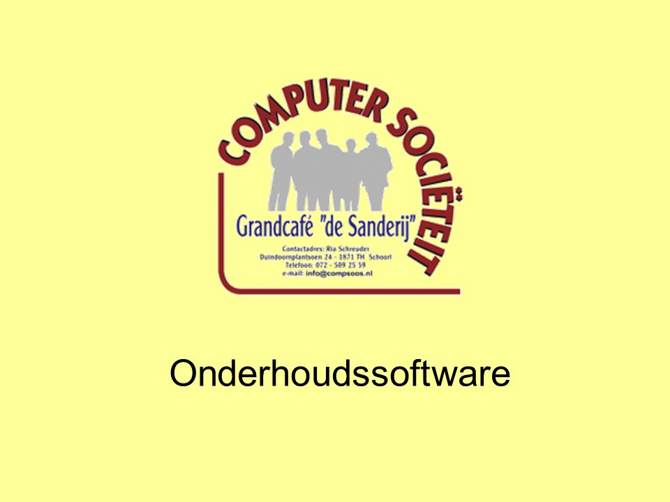 Onderhoudssoftware
