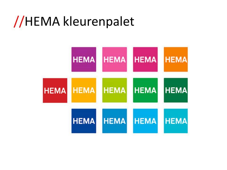 //HEMA kleurenpalet