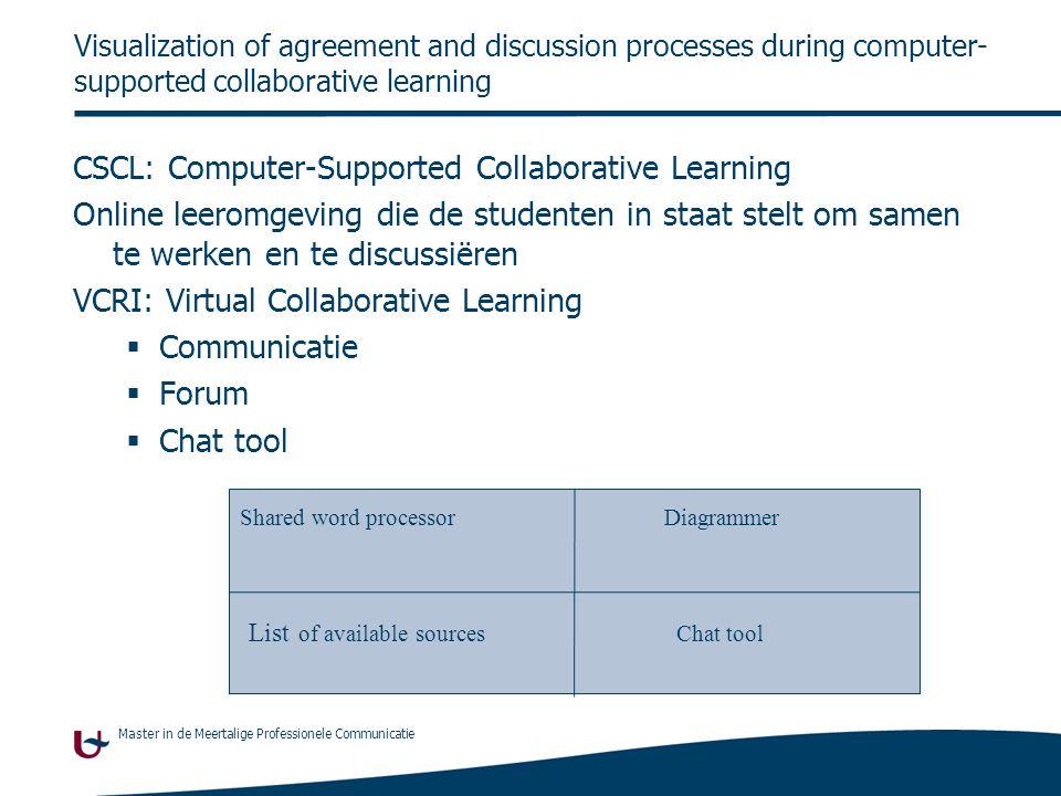 Master in de Meertalige Professionele Communicatie  Discussie:  Wat vinden jullie van de resultaten van de bijkomende artikelen.