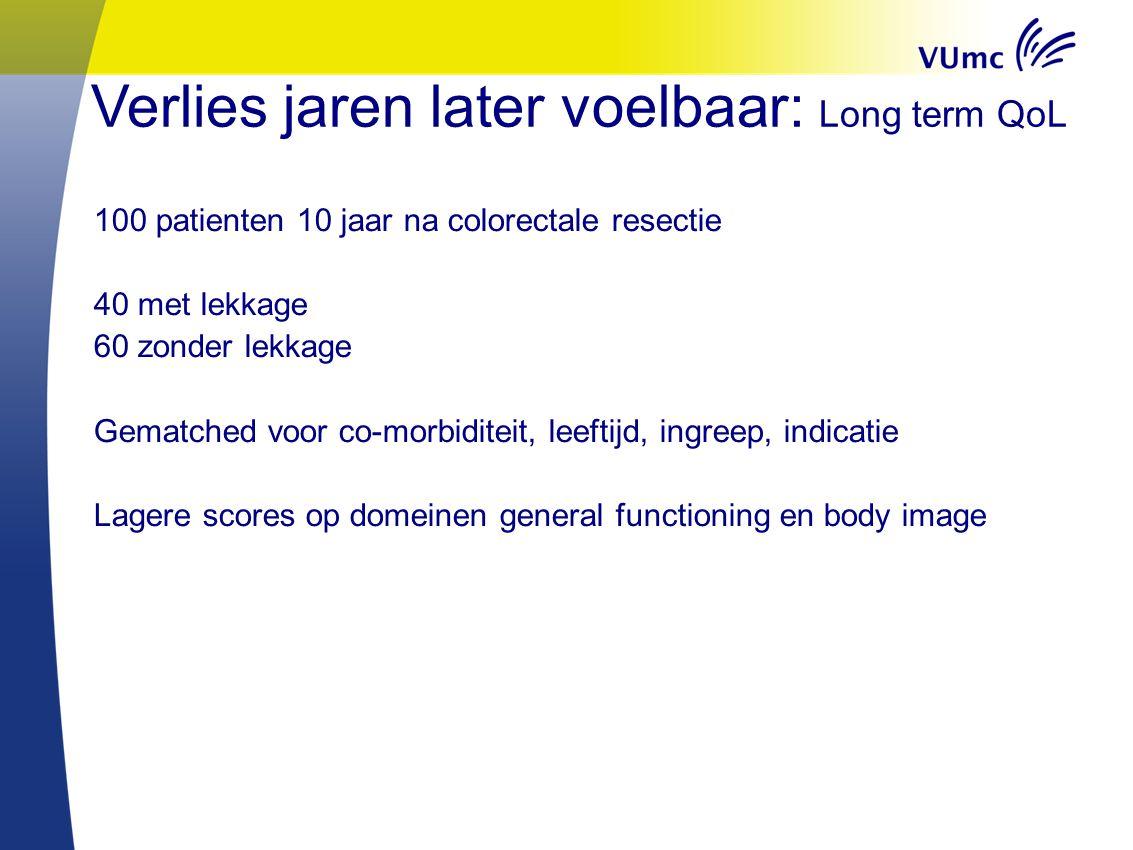Een uitstekende verdediging Proefschrift Colorectal Anastomotic Leakage: New perspectives 2 december 15:30 Queridozaal Erasmus MC Rotterdam