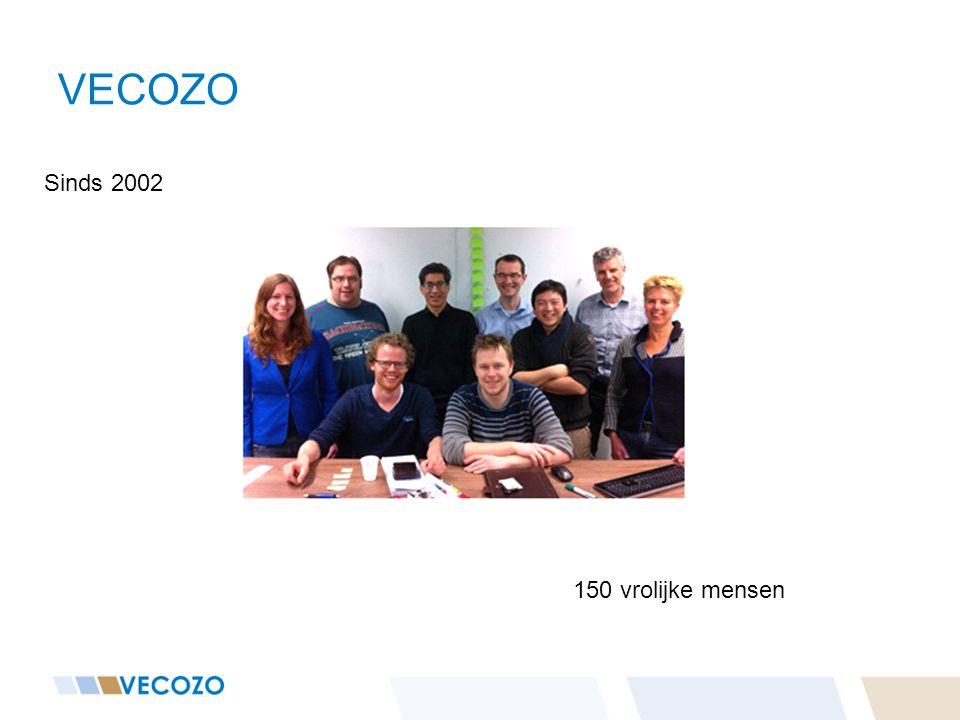 VECOZO Sinds 2002 150 vrolijke mensen