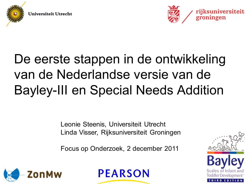 Datum 02-12-2011 faculteit gedrags- en maatschappijwetenschappen orthopedagogiek Hoofdonderzoek Onderzoeksvragen: Hebben de kinderen baat bij de aanpassingen.