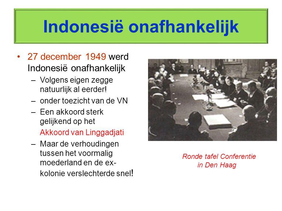 Onderling wantrouwen Nederland t.a.v.