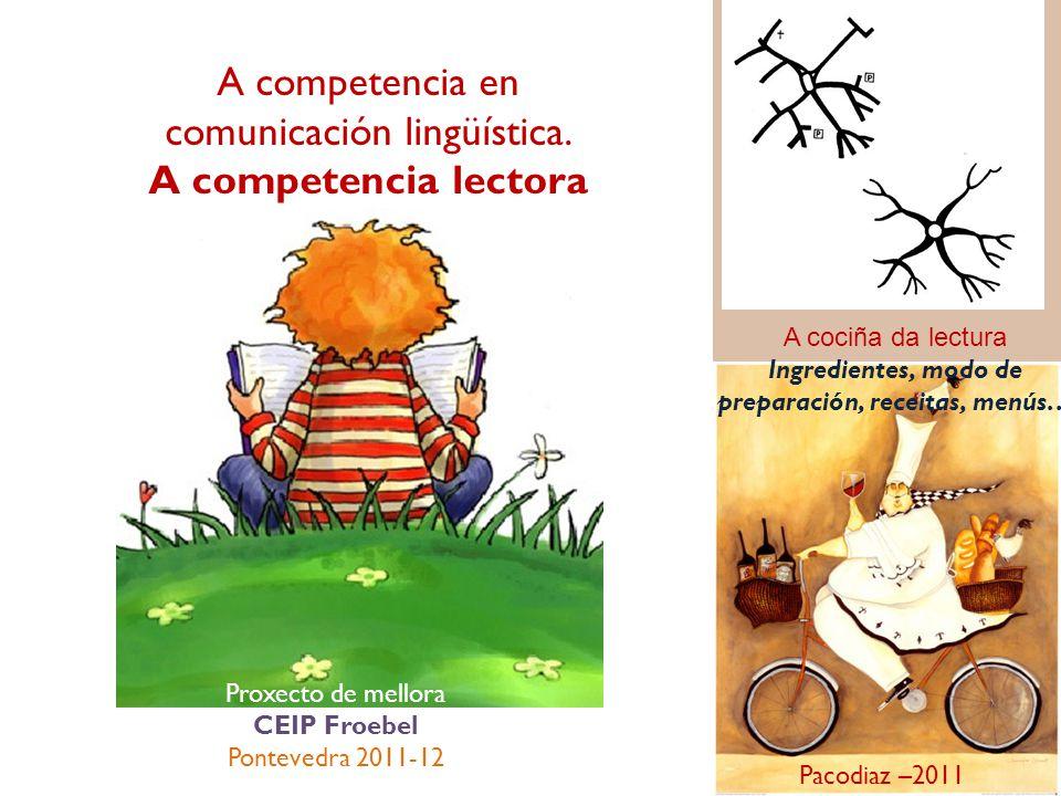 A competencia en comunicación lingüística.