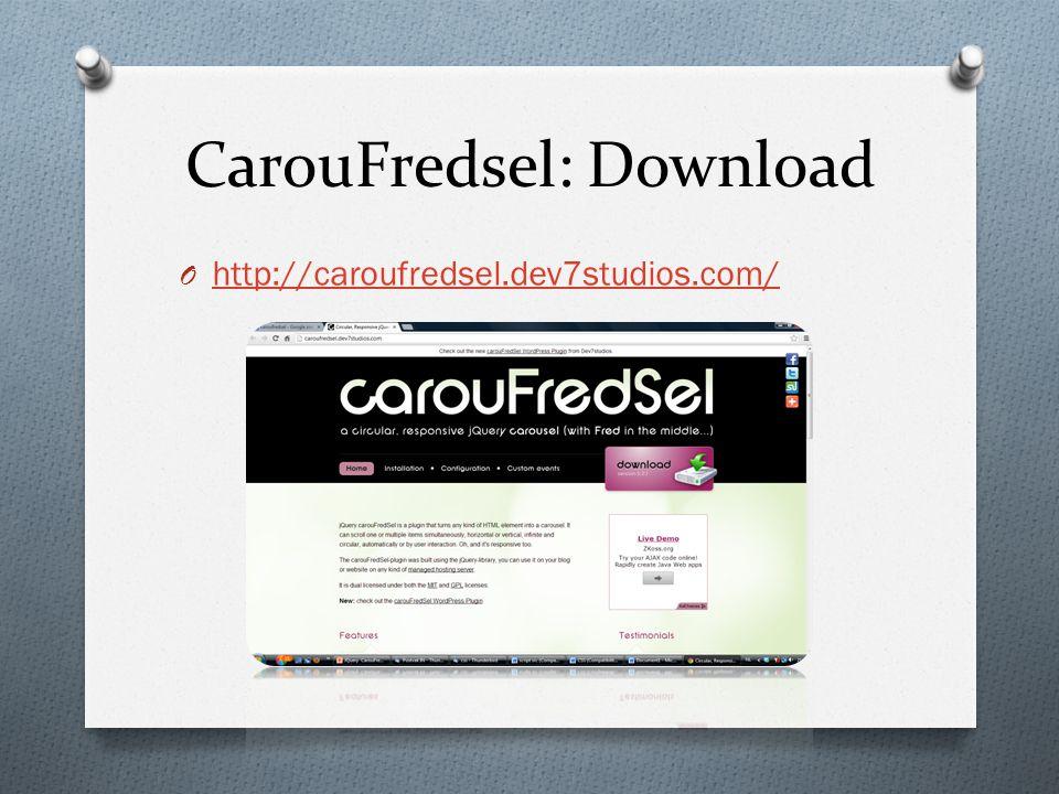 CarouFredsel: Download O http://caroufredsel.dev7studios.com/ http://caroufredsel.dev7studios.com/