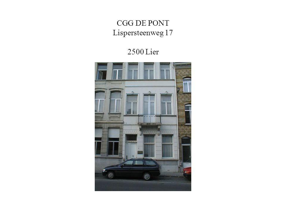 CGG DE PONT Lispersteenweg 17 2500 Lier