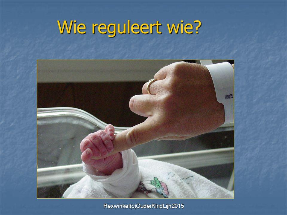 Wie reguleert wie? Rexwinkel(c)OuderKindLijn2015