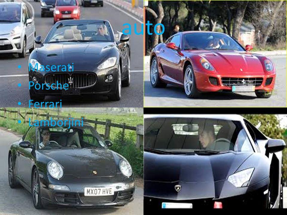 auto Maserati Porsche Ferrari Lamborjini