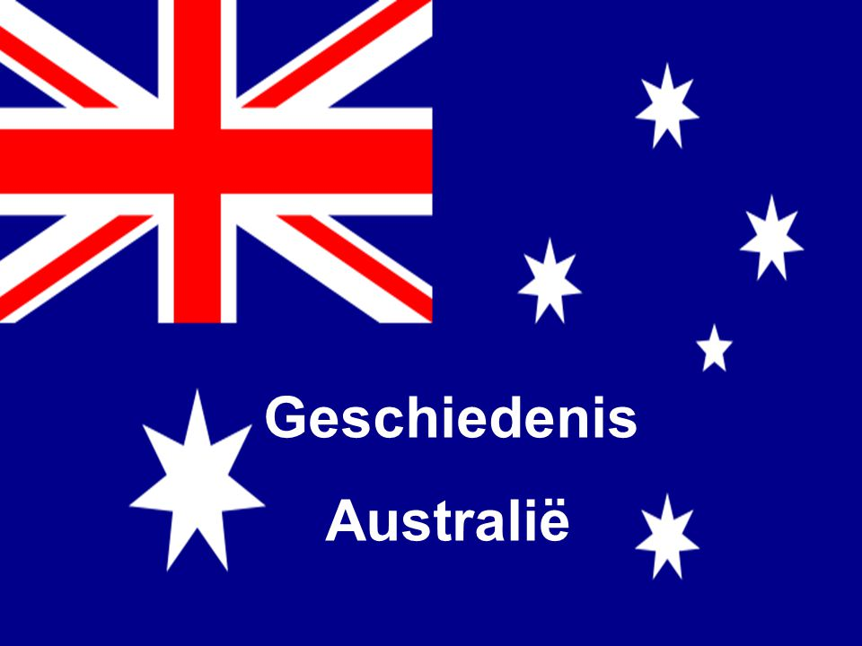 Inleiding  Wie leefden voor de blanken in Australië kwamen.