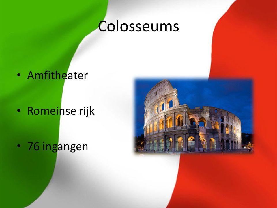 Colosseums Amfitheater Romeinse rijk 76 ingangen