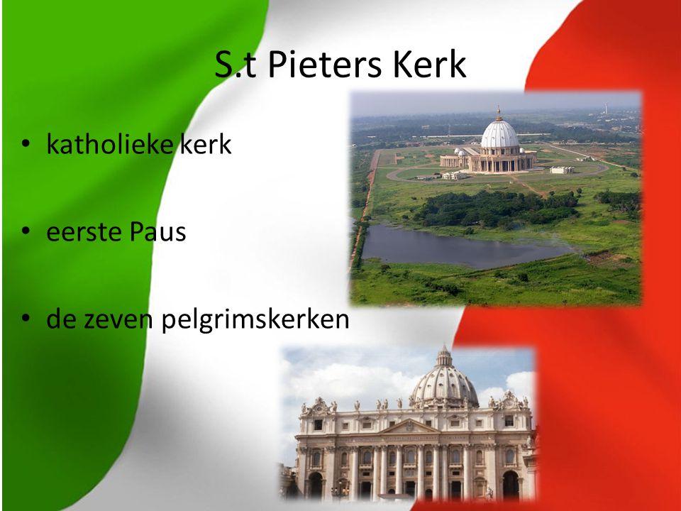 S.t Pieters Kerk katholieke kerk eerste Paus de zeven pelgrimskerken