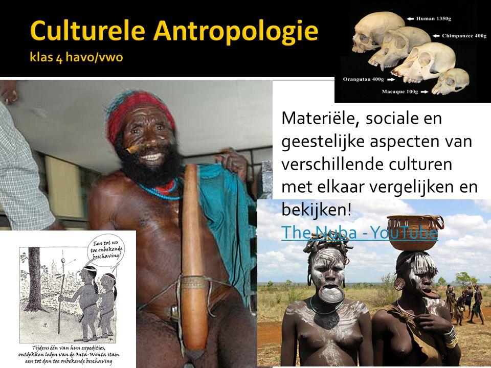 Materiële, sociale en geestelijke aspecten van verschillende culturen met elkaar vergelijken en bekijken! The Nuba - YouTube