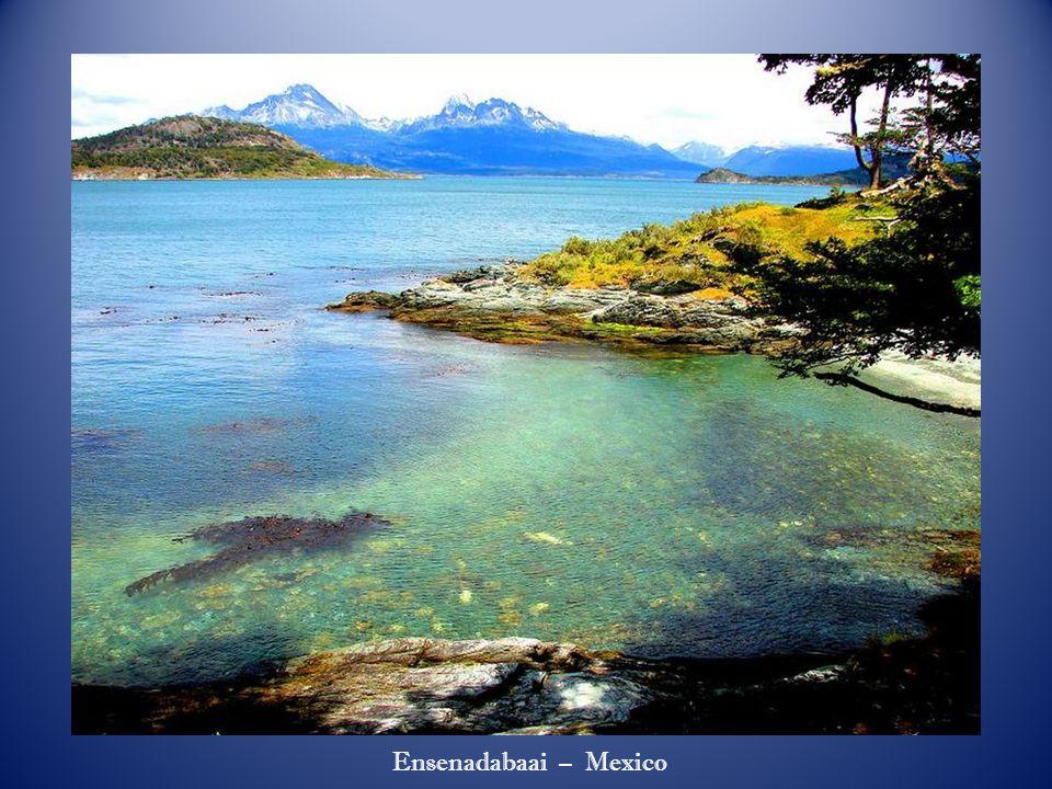 Kust van Ushuaia – Vuuraarde - Argentinië