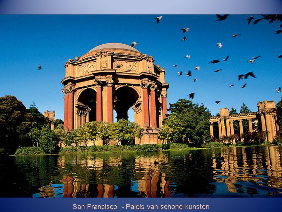 San Francisco – Viktoriaanse gevels - Alamo Square