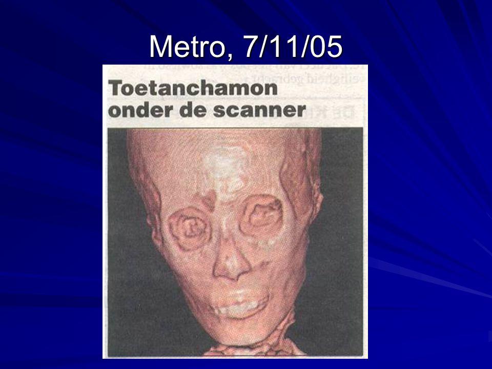 Metro, 7/11/05