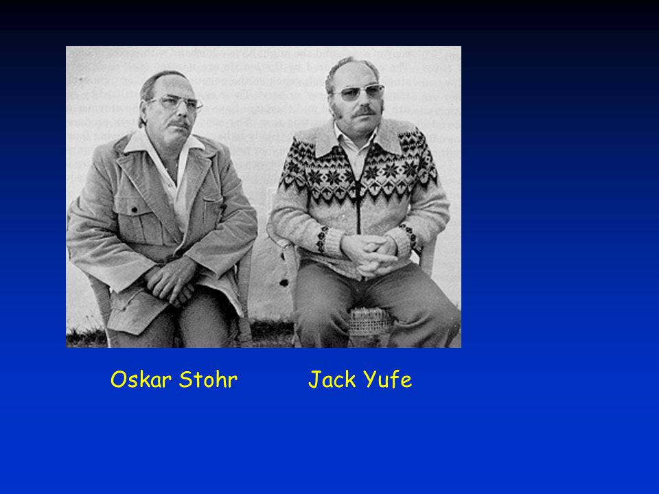 Oskar StohrJack Yufe