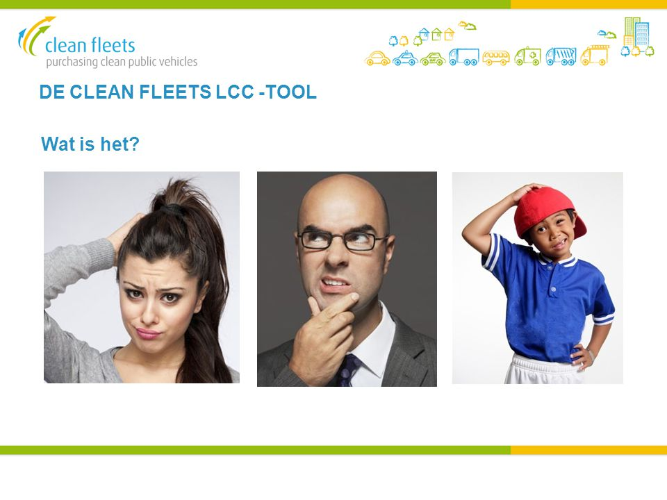 DE CLEAN FLEETS LCC -TOOL Wat is het