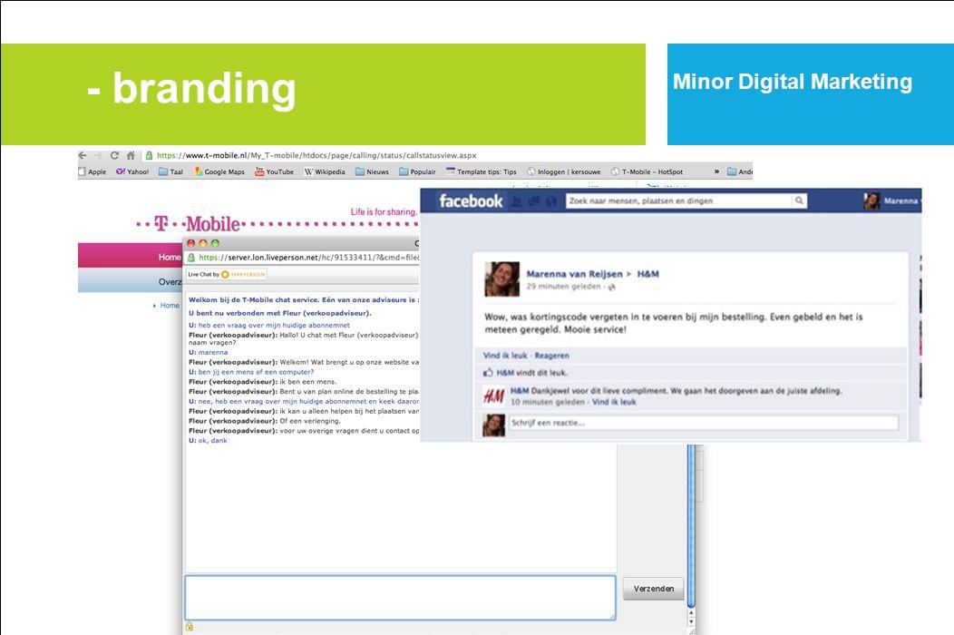 - branding Minor Digital Marketing