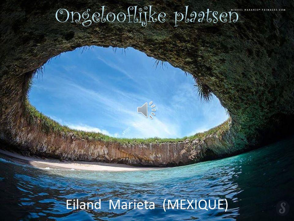 Eiland Marieta (MEXIQUE) Ongelooflijke plaatsen
