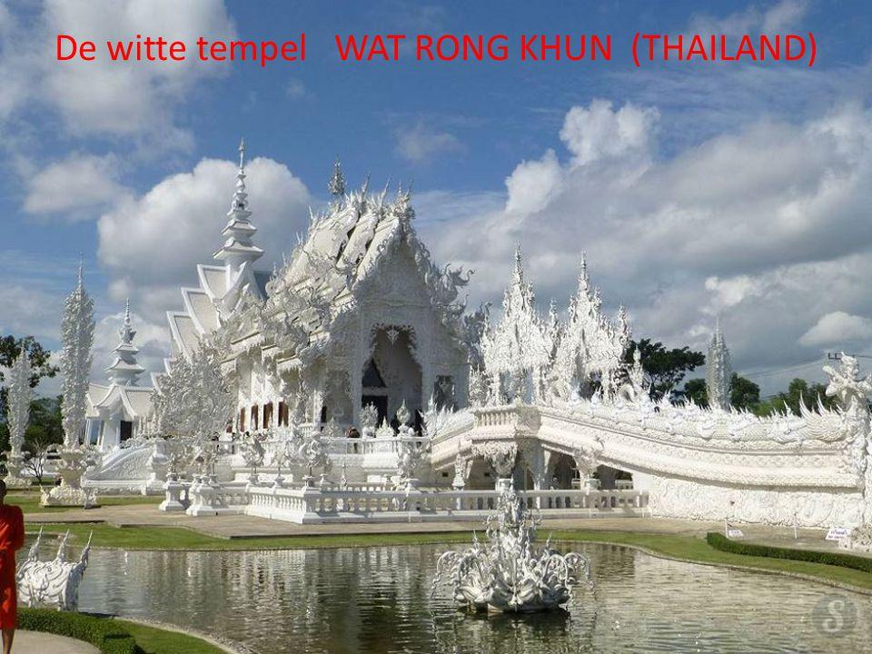 De witte tempel WAT RONG KHUN (THAILAND)