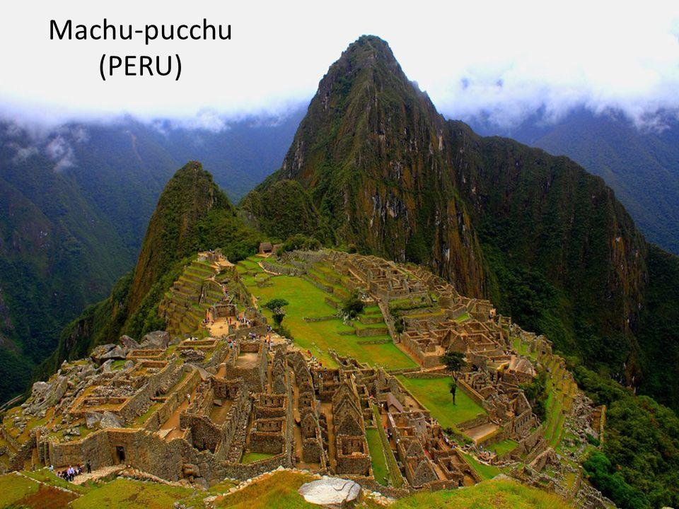 Machu-pucchu (PERU)