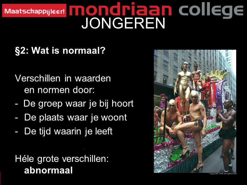 6 JONGEREN §2: Wat is normaal.