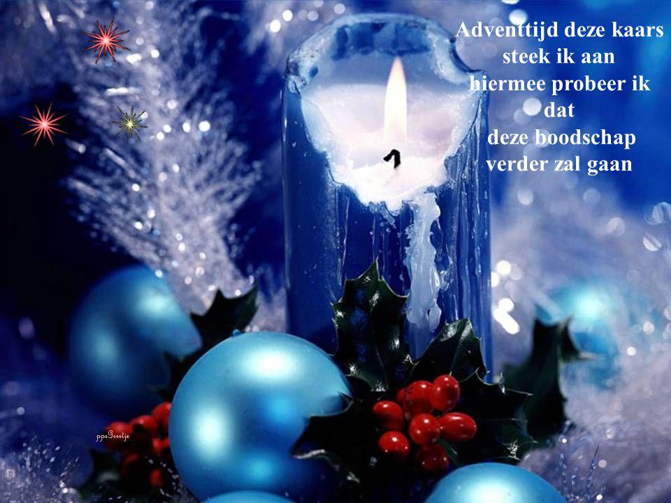 4 weken de tijd om te bedenken met de oprechte hoop dat Kerst ons vrede zal schenken