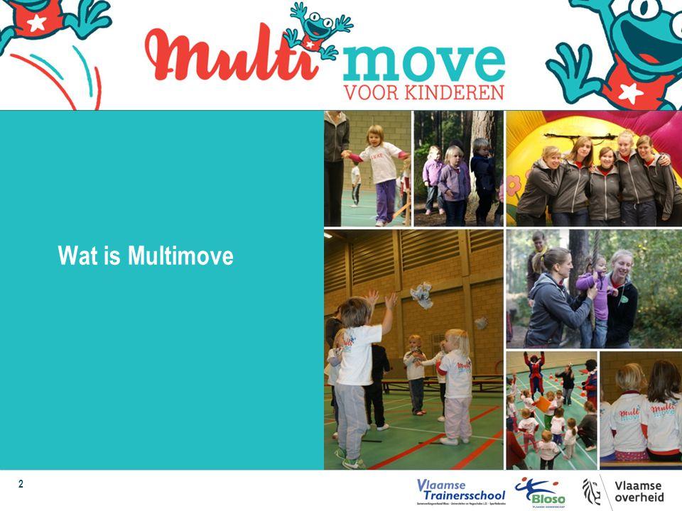 3 Een bewegingsprogramma voor 3- tot 8-jarige kinderen waarin gevarieerd, breed bewegen en plezier centraal staat.