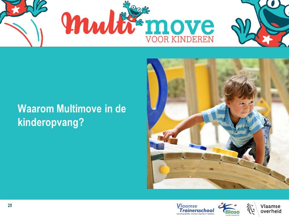 25 Waarom Multimove in de kinderopvang?