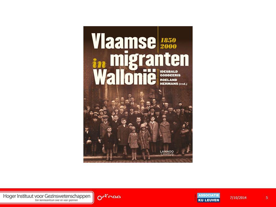 Diversiteit binnen de kinderopvang Migratiefenomeen in België Definitie Situering Overzicht Eerste migratiegolf 1920 Tweede migratiegolf 1950 Vandaag anno 2014 67/10/2014